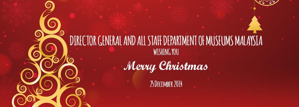 Selamat Menyambut Hari Krismas