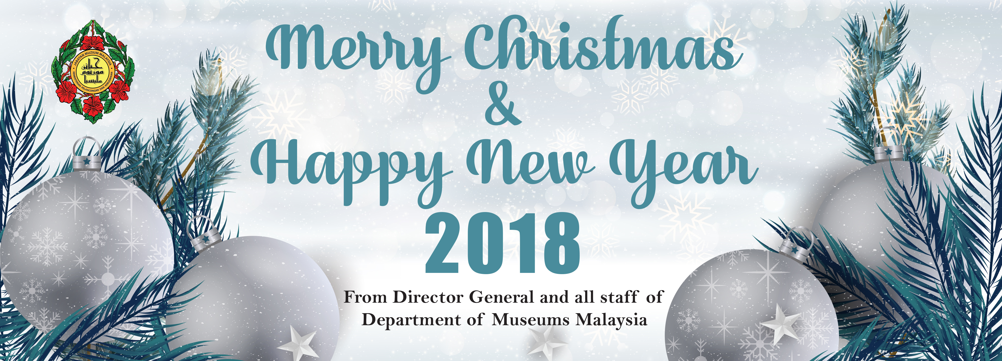 Merry Christmas & Happy New Year 2018 | Department of Museums Malaysia