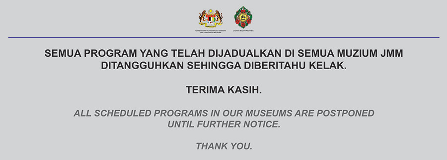Notis Penangguhan Program JMM
