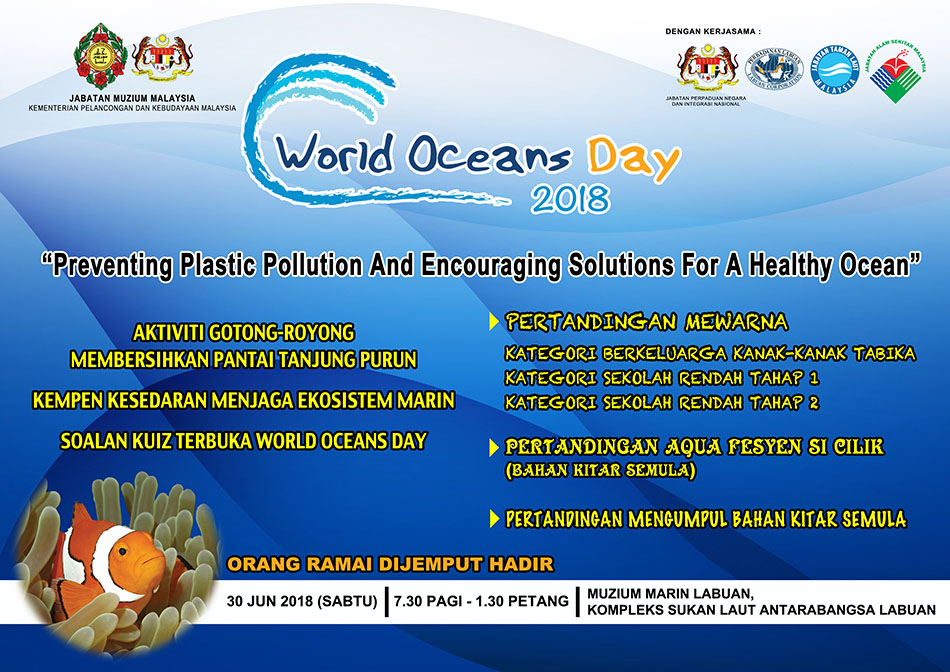 Muat Naik World Ocean Day 2018