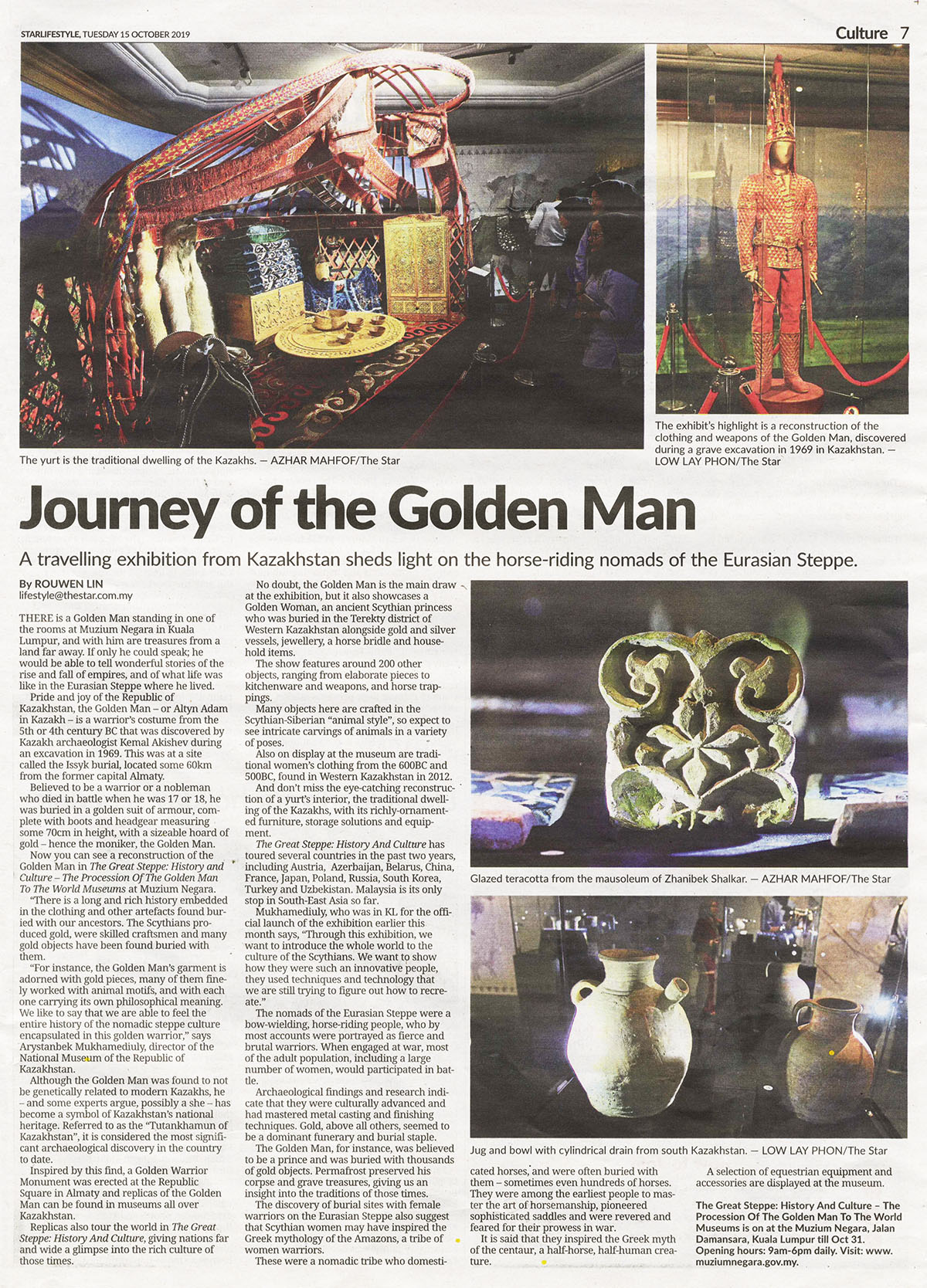 Journey of the Golden Man