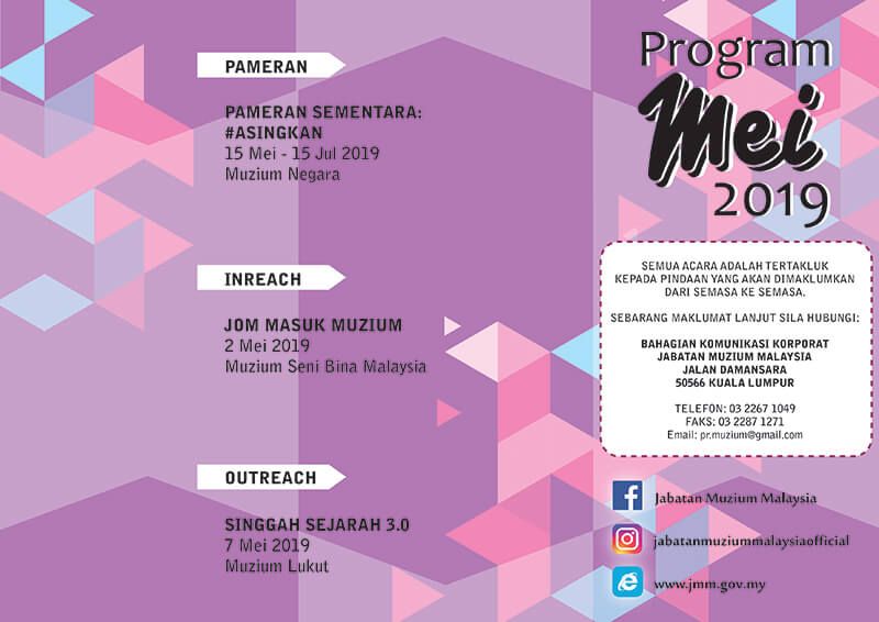 Program JMM Bulan Mei 2019
