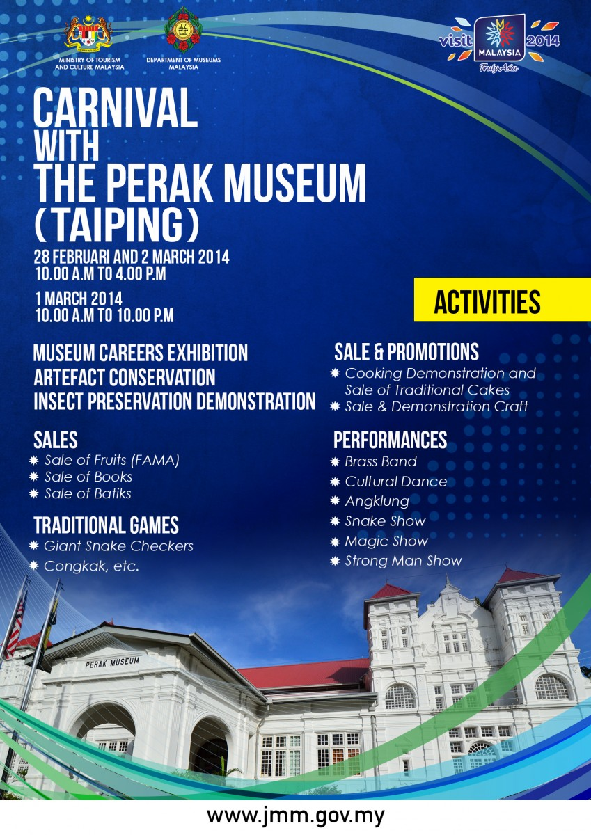 Carnival With The Perak Museum