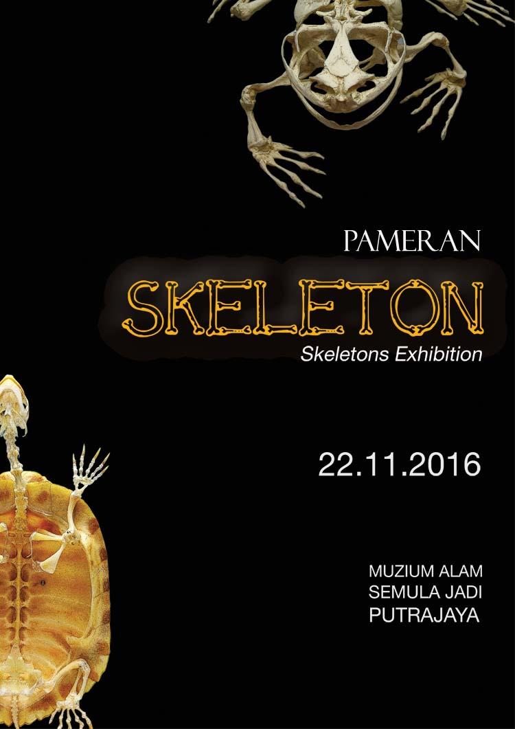 Pameran Skeleton di Muzium Alam Semula Jadi