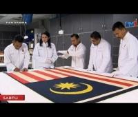 Proses Baik Pulih Bendera 31 Ogos 1957 RTM TV1 Muzium Negara Panorama