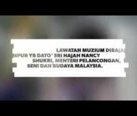 Lawatan YB Menteri MOTAC ke Muzium Diraja, KL