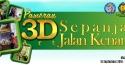 Pameran 3DArt Sepanjang Jalan Kenangan