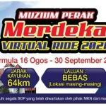 Muzium Perak Merdeka Virtual Ride 2021