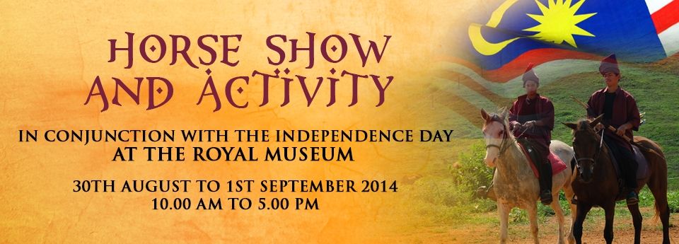 Horse Show And Activity In Conjunction With The Independence Day At The Royal Museum