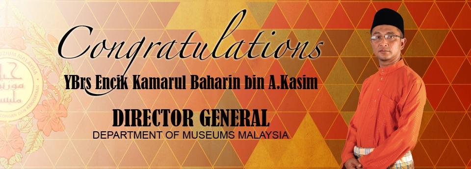 Congratulations DG JMM