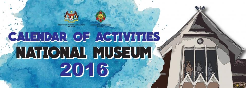 Calendar Of Activities National Museum 2016