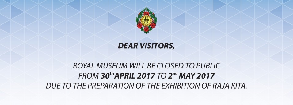 Closing Announcement of Royal Museum