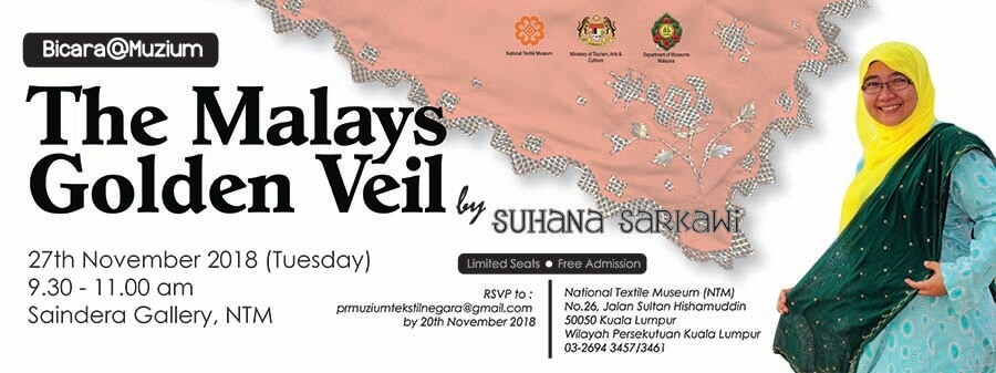 Bicara@Muzium:The Malays Golden Veil