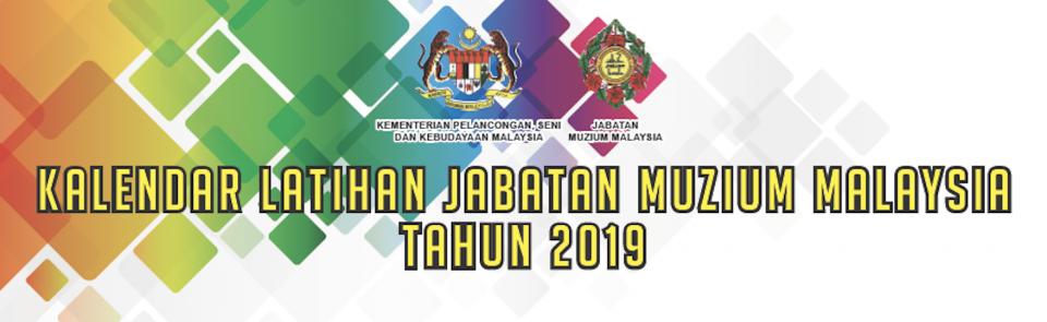 Kalendar Latihan JMM 2019