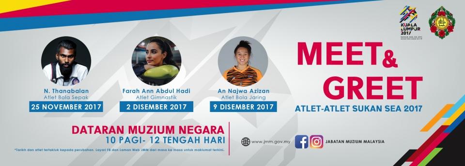 Meet & Greet: Atlet-Atlet Sukan SEA 2017