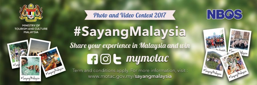 Photo and Video Contest 2017 #SayangMalaysia