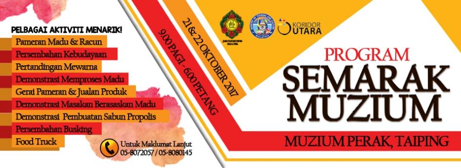Program Semarak Muzium di Muzium Perak, Taiping
